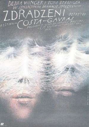Betrayed Costa-Gavras Wiesław Wałkuski Polish movie poster
