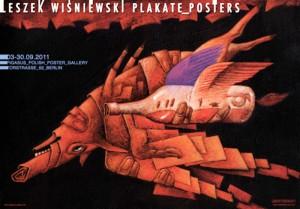 Leszek Wiśniewski Plakate Posters Leszek Wiśniewski Polish exhibition poster