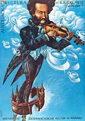 Austrian Culture in Cracow Leszek Wiśniewski Polish poster art