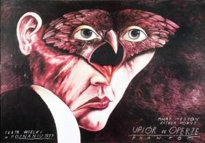 Phantom of the Opera Leszek Żebrowski Polish opera poster