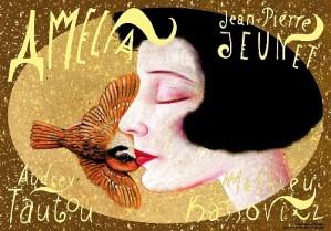 Amelie Jean-Pierre Jeunet Leszek Żebrowski Polish movie poster