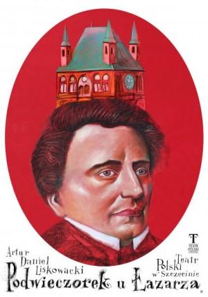 Podwieczorek u Łazarza  Polish Poster