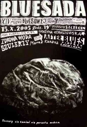Bluesada - Blues festival  Polish Poster
