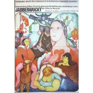 Jabberwocky Terry Gilliam Hanna Bodnar Polish Film Posters