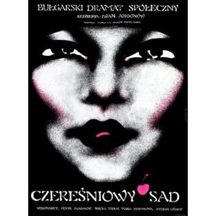 Cherry Orchard Ivan Andonov Danuta Baginska-Andrejew Danka Polish Film Posters