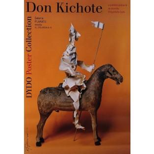 Don Quijote in polish poster Tomasz Bogusławski Polish Exhibition Posters
