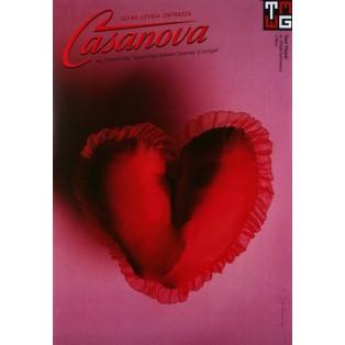 Casanova Tomasz Bogusławski Polish Theater Posters