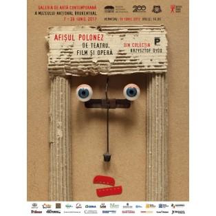 Polish poster exhibition in Sibiu, Romania Tomasz Bogusławski Polish Exhibition Posters