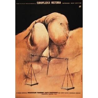 European Story Igor Gostev Witold Dybowski Polish Film Posters