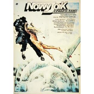 New York, 4 A.M. Krzysztof Krauze Witold Dybowski Polish Film Posters