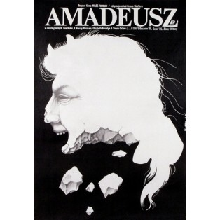 Amadeus Jakub Erol Polish Film Posters