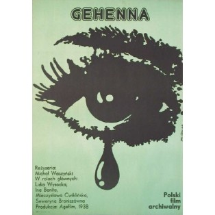 Anguish, Gehenna Michał Waszyński Jakub Erol Polish Film Posters