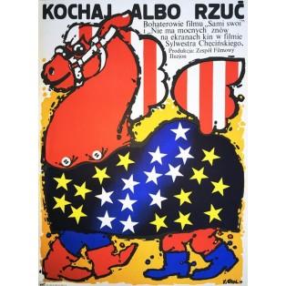 Big Deal, Love or Leave Jakub Erol Polish Film Posters