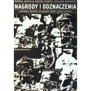 Awards and Decorations Jakub Erol Polish Film Posters