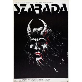 Charade Paweł Komorowski Jakub Erol Polish Film Posters