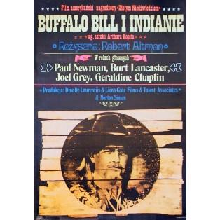 Buffalo Bill and the Indians Robert Altman Jakub Erol Polish Film Posters