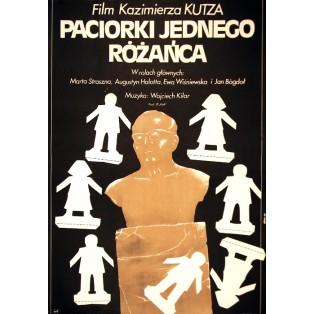 Beads of One Rosary Kazimierz Kutz Jakub Erol Polish Film Posters