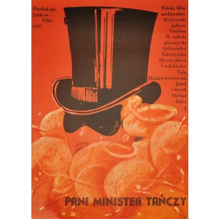 Twin Sister, Miss Minister Dances Jakub Erol Polish Film Posters