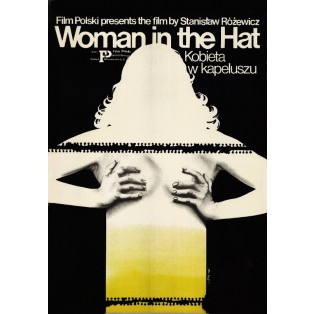 Woman in a Hat Jakub Erol Polish Film Posters