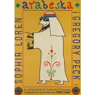 Arabesque Jerzy Flisak Polish Film Posters