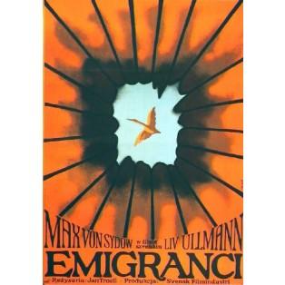 Emigrants Jan Troell Jerzy Flisak Polish Film Posters