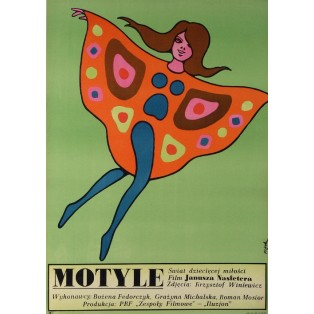 Young Butterflies Jerzy Flisak Polish Film Posters