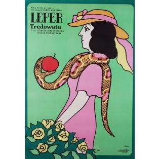 Leper Jerzy Flisak Polish Film Posters
