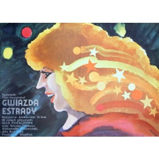 Woman Who Sings Alexander Orlow Jerzy Flisak Polish Film Posters