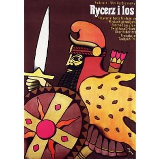Knight and the Fate Boris Kimiagarov Jerzy Flisak Polish Film Posters