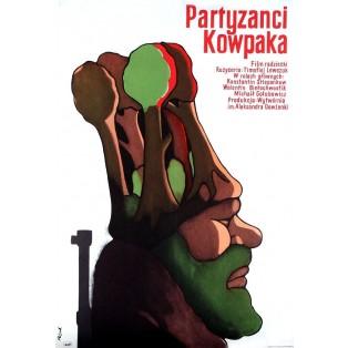 Poem of Kovpak: Snow-Storm Jerzy Flisak Polish Film Posters