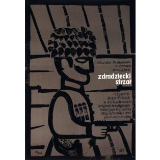 Cheka Employee Jerzy Flisak Polish Film Posters