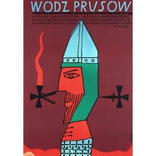 Northern Crusades Jerzy Flisak Polish Film Posters