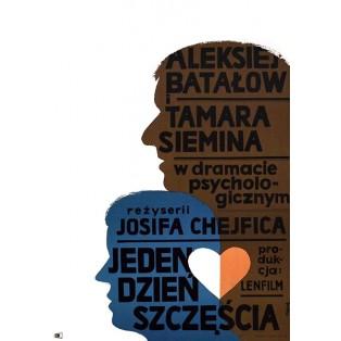 Day of Happiness Jerzy Flisak Polish Film Posters