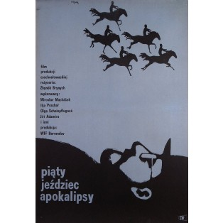 And the Fifth Horseman Is Fear Jerzy Flisak Polish Film Posters