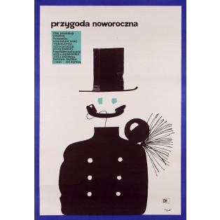 New Year Eve Adventure Jerzy Flisak Polish Film Posters