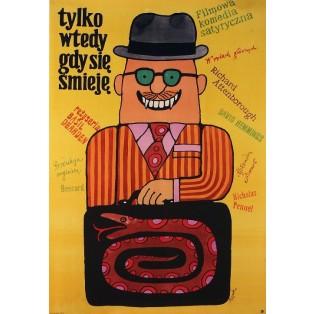 Only When I Larf Jerzy Flisak Polish Film Posters