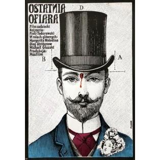 Last Victim Jerzy Flisak Polish Film Posters
