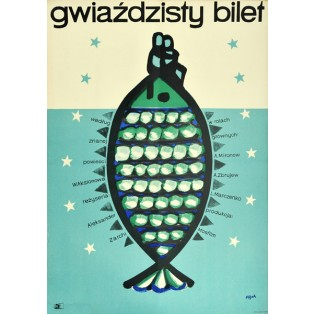 My Younger Brother Jerzy Flisak Polish Film Posters