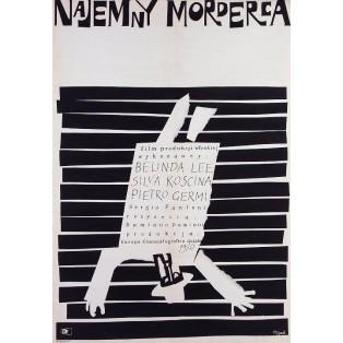 Hit Man, Blood Feud, The Killer Jerzy Flisak Polish Film Posters