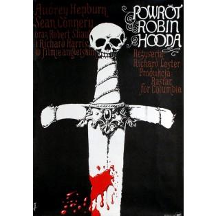 Robin and Marion Jerzy Flisak Polish Film Posters