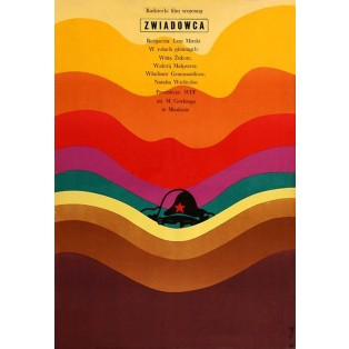 Eto bylo v razvedke Jerzy Flisak Polish Film Posters