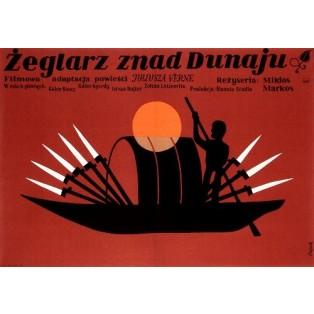 Dunai hajós Jerzy Flisak Polish Film Posters