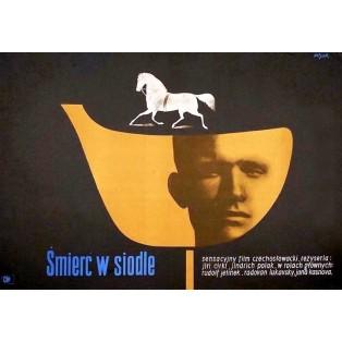 Death in the Saddle Jerzy Flisak Polish Film Posters