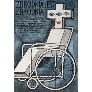 Murder Is a Murder… Jerzy Flisak Polish Film Posters