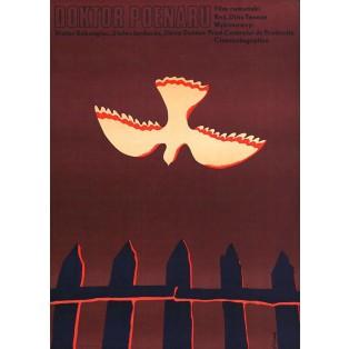 Doctor Poenaru Jerzy Flisak Polish Film Posters