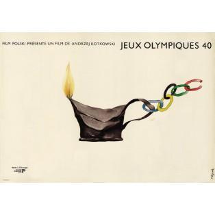 Olympics 40 Jerzy Flisak Polish Film Posters