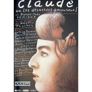 Claude Mieczysław Górowski Polish Theater Posters