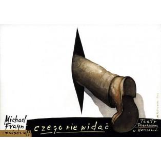 Noises Off Mieczysław Górowski Polish Theater Posters