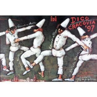 Dico-Cracovia 97 Mieczysław Górowski Polish Theater Posters