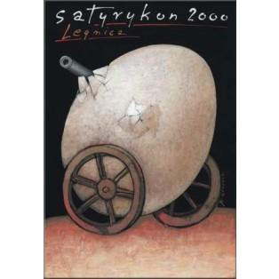 Satyrykon 2000 Mieczysław Górowski Polish Exhibition Posters